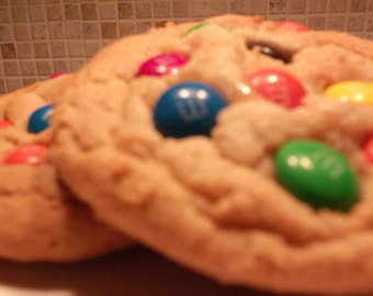 A Pound of Homemade Cookies Made with M&M'S®