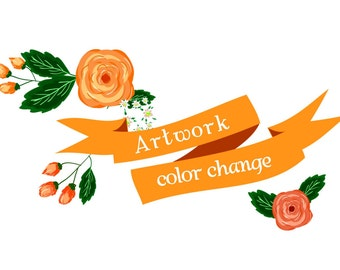 Wall Art Color Change