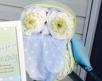 Baby Diaper Owl
