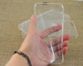 Silicone clear iphone6 Cases,Clear iphone5C case, transparent Samusng galaxy s6 case, transparent  iPhone 6 Plus case