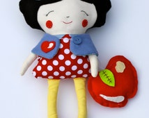 Snow White Doll- Dolls and Daydream Doll- Ready To Ship