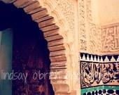Moroccan Photography: Moroccan Doorway Print 8x10, Moroccan Decor, Morocco Photos, Marrakesh, Marrakech, Moroccan Art, Morocco Door Photo