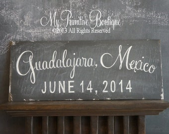 CHALK BOARD the Back of Our Wedding SIGNS, Vintage Chalk Board Finish, Distressed Chalkboard Finish, Shabby Chic Chalkboard, Double Sided,