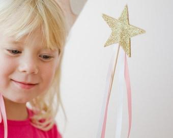 Magic FAIRY wand glitter stars