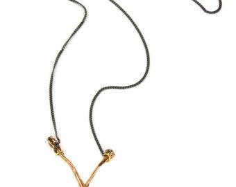 Birdhouse Jewelry - Crossbones Necklace