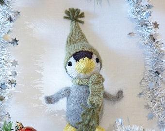 Baby Penguin Knitting Pattern