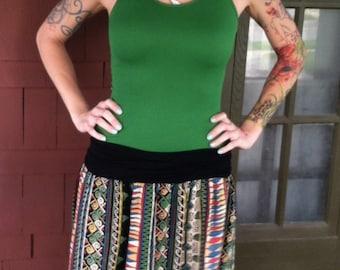 Up-Cycled Maxi Skirt, Boho, Hippie, Eco Clothing/Festival Clothing/ Gypsy Clothing/Fariy Clothing