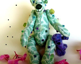 Instant Download PDF Pattern-Marzio Teddy bear-Digital Download Artist Teddy Bears-No instructions