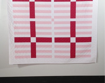 You + Me, a PDF modern quilt pattern, by Heather Jones