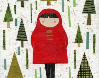 Girl In Pines