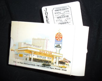 Vintage Vegas Slots of Fun Playing Cards