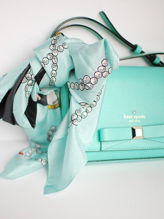 Glamour Women's Silk Scarf