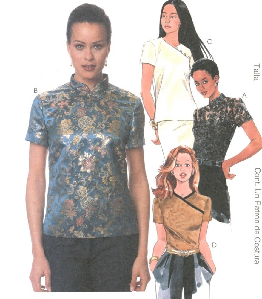 Asian Style Tops 82