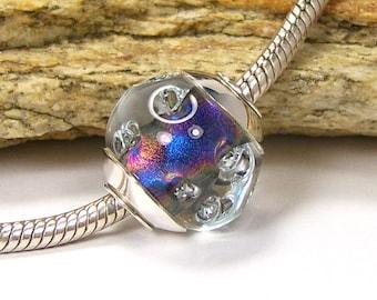 Lampwork Glass Charm Bead - Large Hole - BHB