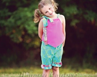 Kite Top Sewing Pattern Whimsy Couture 6m - 16 girls PDF Instant
