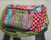 Watermelon Wishes Large Patchwork Camera Bag