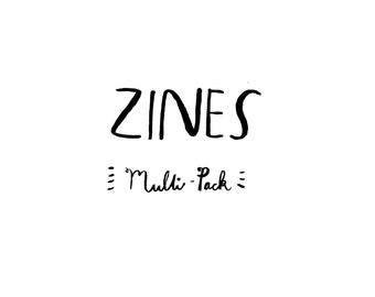 Zines, multi pack