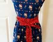 Little Liberty Hi There Kitty Ladies Apron