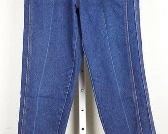 Gitano High Waist Blue Jeans 80s 10 XS S