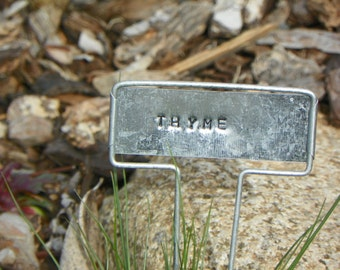 Thyme Metal Plant Marker