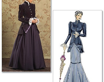 Historical Costume Pattern - 20th Century - Butterick B4954 - New Uncut  US Sizes: 8 - 14 or 16 - 22