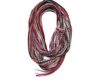 Brown Scarf, Statement Necklace, Gift for Men, Gifts For Her, Burgundy Scarf, Gifts For Him, Infinity Scarves, Birthday Gift, Gift Ideas