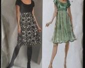 Vogue 2927 Anna Sui - Dress Pattern, Size 6, 8, 10, 12 uncut, factory folds, 2006