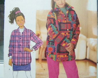 Butterick 4594 Girl's Pattern, SALE, Girl's Top, Straight Skirt and Elastic Waist Pants, Fast and Easy Girls Pattern, Size 12 -14, Destash
