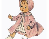 Vintage Doll Clothes PATTERN 5730 for 16 in Betsy Wetsy Ginny Baby by Ideal
