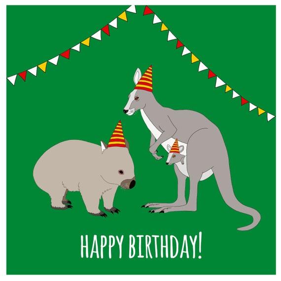Unavailable Listing on Etsy: https://www.etsy.com/listing/173702383/australian-birthday-card