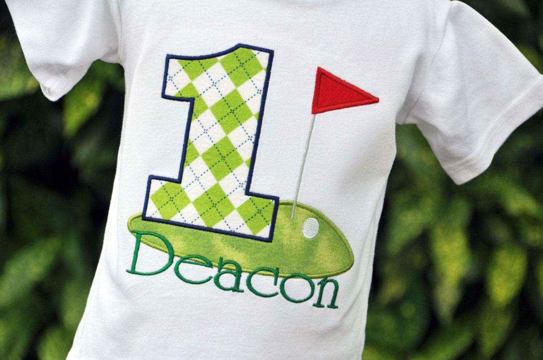 Golf birthday shirt golf shirt personalized golf shirt for Custom printed golf shirts