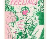Plant Feelings Risograph Print