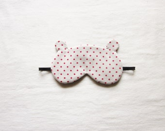Bear Silk Sleep Eye Mask
