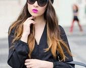 Black Turban Hat Womens Turban Cloche Full Head Turban Stretch Turban Hat Pleated Design Womens Hat - Choose Your Color