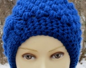 Beautiful Blue Cloche Hat for Women/Teens