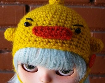 SALE---Angry Duck hat for Blythe