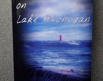 Blood on Lake Michigan (2014) First Edition Paperback by Michelle Gartner YA Book INDIE Author