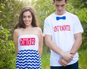 Star Spangled Bride & Groom Rehearsal Outfits