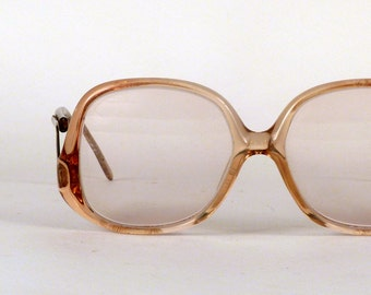 Eyeglass Frame Earpiece : Vintage Glasses Squar Tortoise 1960s by ByHeart on Etsy