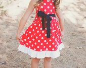 MINNIE MOUSE Inspired Dress