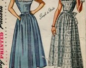 """Simplicity 2908 Vintage 40s """"Simple to Make"""" Dress Pattern"""