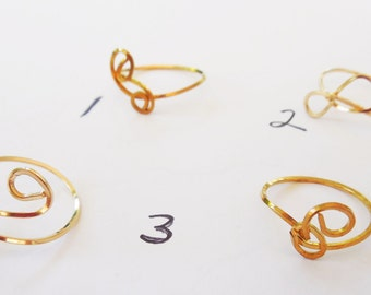 Brass Rings sized to fit