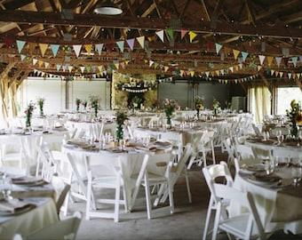 Wedding Decorations Rustic / Wedding Decorations Vintage / Barn Wedding Decor / Eco Friendly Wedding / Wedding Reception Decorations / 55ft
