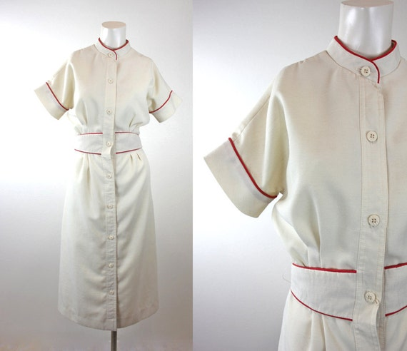 c1970's Roadside Diner Dress