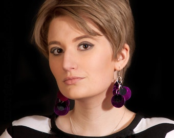 Sequin Statement Earrings