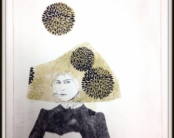Matriarch 1 - Original Hand Pulled Etching