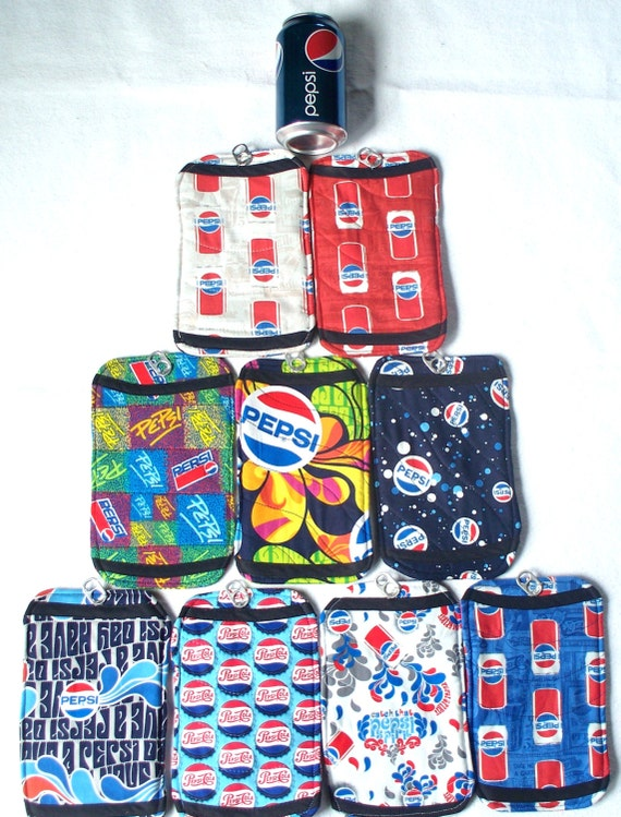 Pepsi Coasters,Handmade Mug Rugs,Candle Mats.Pepsi Challenge Select Your Favorite Pepsi Fabric, Your Choice,Red White Blue,Custom Original