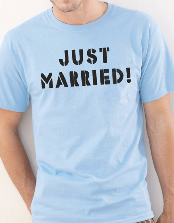 Husband Gift Just Married T Shirt Christmas Gift Funny Tshirt