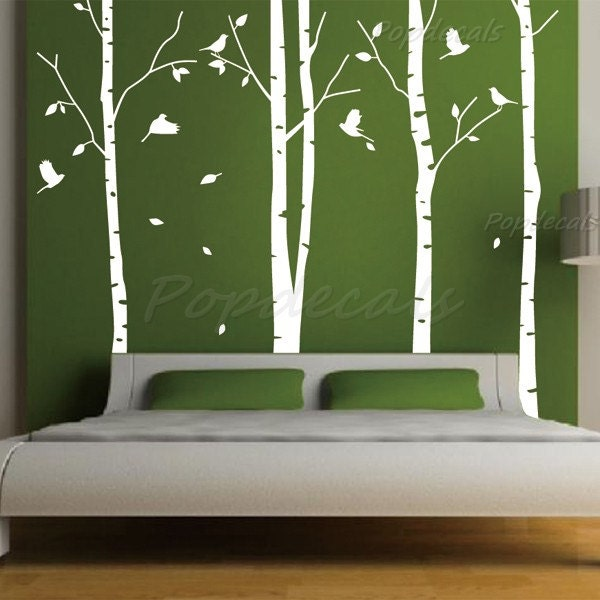 hot sale tree wall murals living room wall by. Black Bedroom Furniture Sets. Home Design Ideas