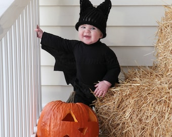 Halloween Bat Hat - Photography Prop - Daily Use - Newborn